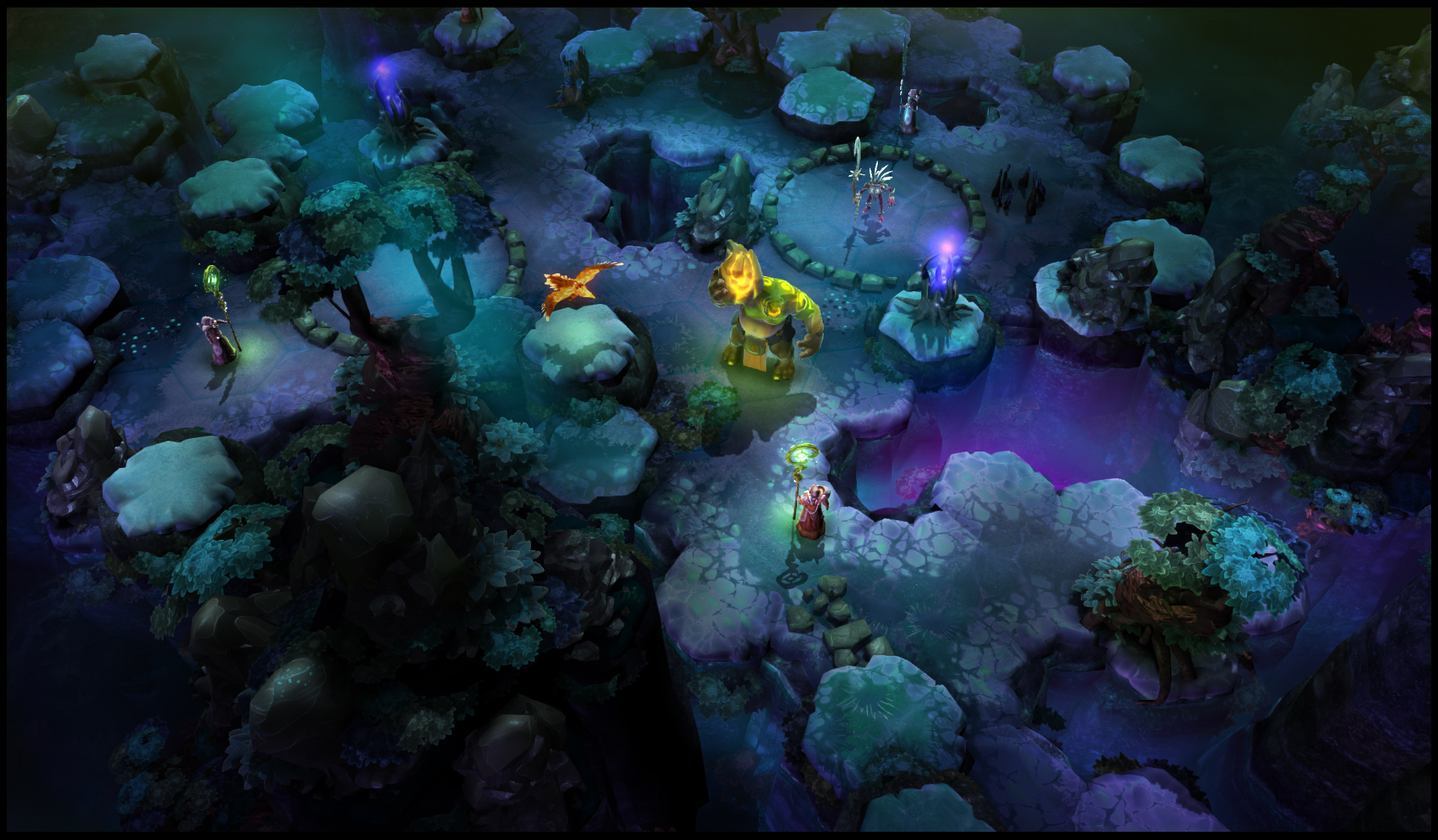Chaos Reborn World Art Screenshot Law